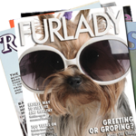 Furlay - dog front page magazine covers
