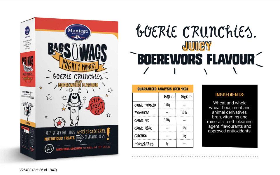 Boerie Crunchies Treat