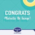 Congrats Michelle De Lange!