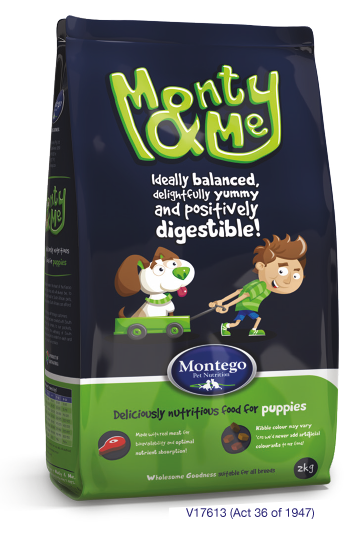 Monty Amp Me Puppy Quality Dog Food For Puppies Montego