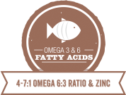 Omega 3 & 6 fatty acids for Large Breed Puppy