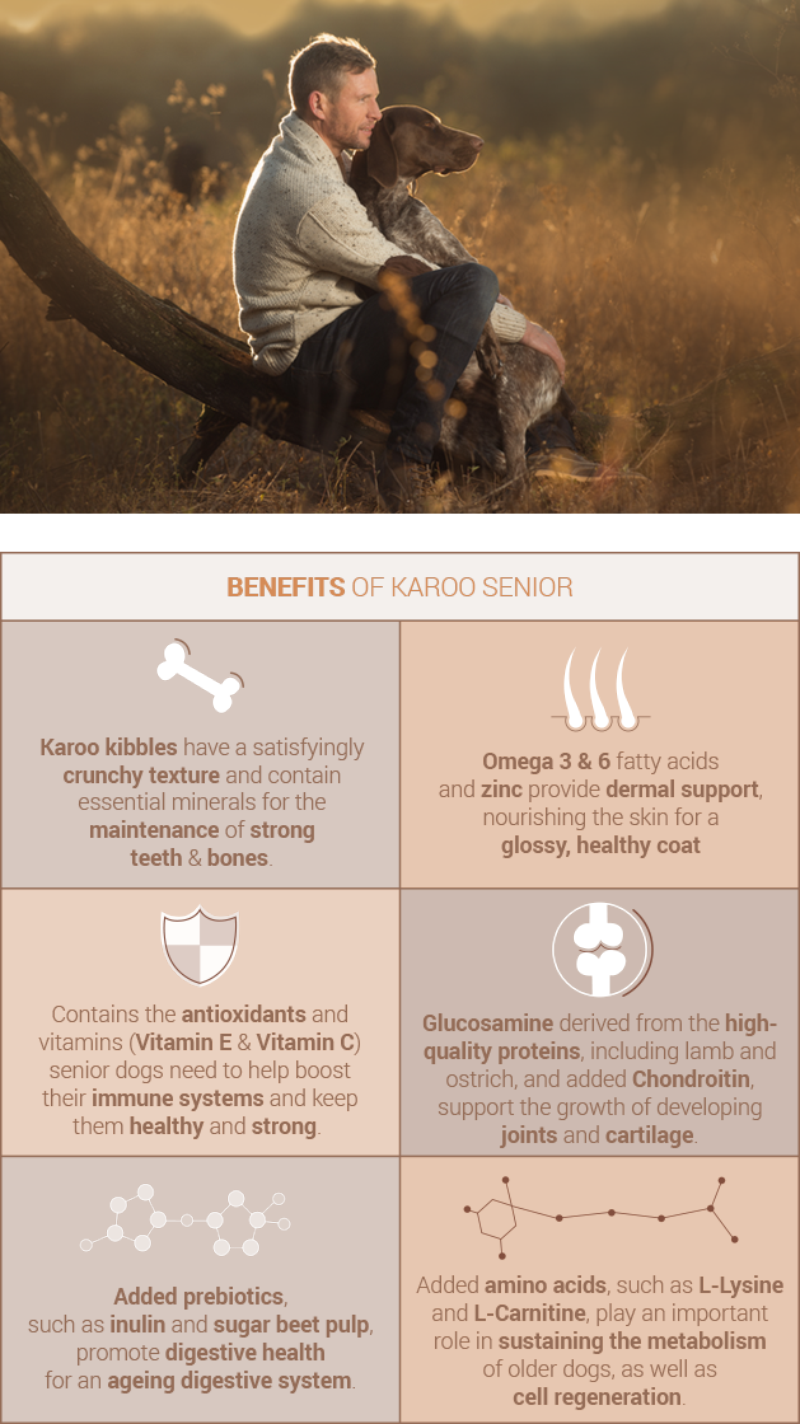 Benefits of Karoo Adult and Senior