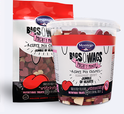 Bags 'O Wags Chewy Dog Treat