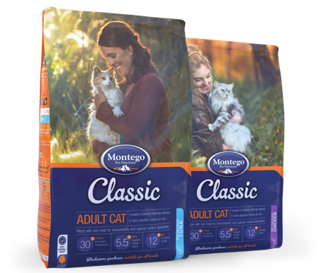 Classic Cat Food Range for Adult Cats
