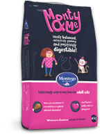 Monty & Me Adult Cat Food Range