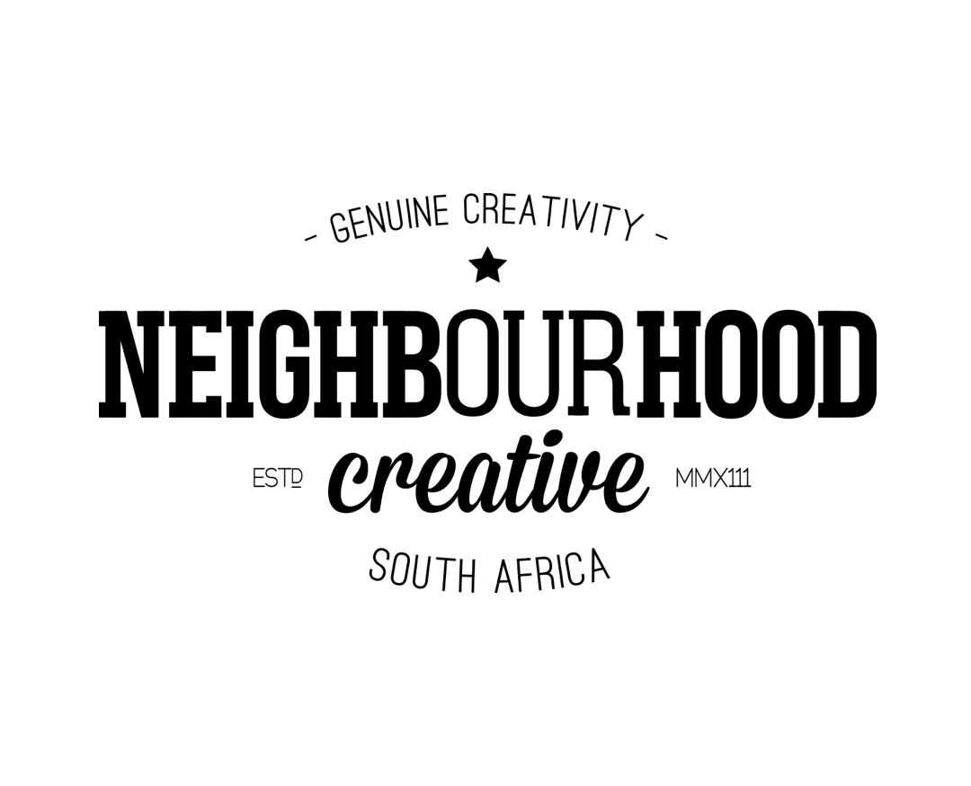 "<a href=""http://theneighbourhood.co.za/"" target=""_blank"" style=""color:#1a324a; font-weight: bold;"">NEIGHBOURHOOD CREATIVE</a>"